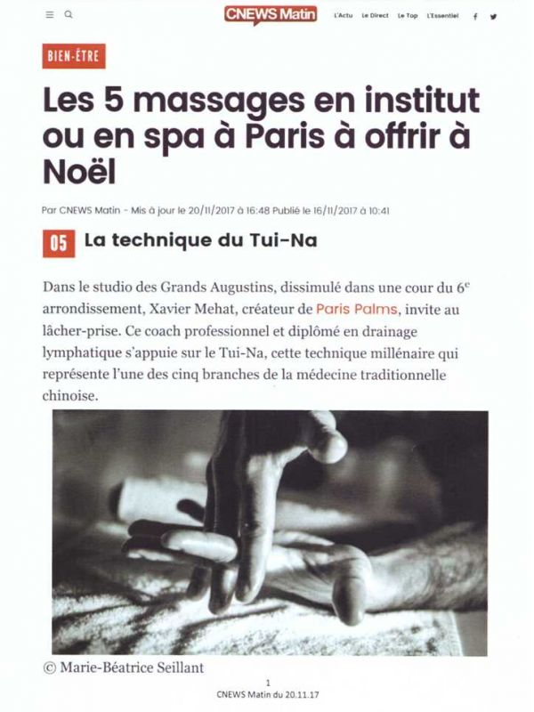 paris palms cnews 20 novembre 2017 - 1