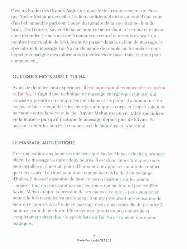 paris palms marie france 8 novembre 2017 - 2